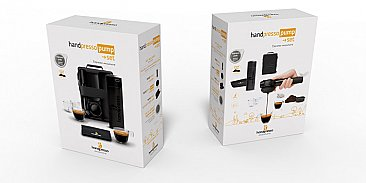 Handpresso Pump Outdoor Set Black